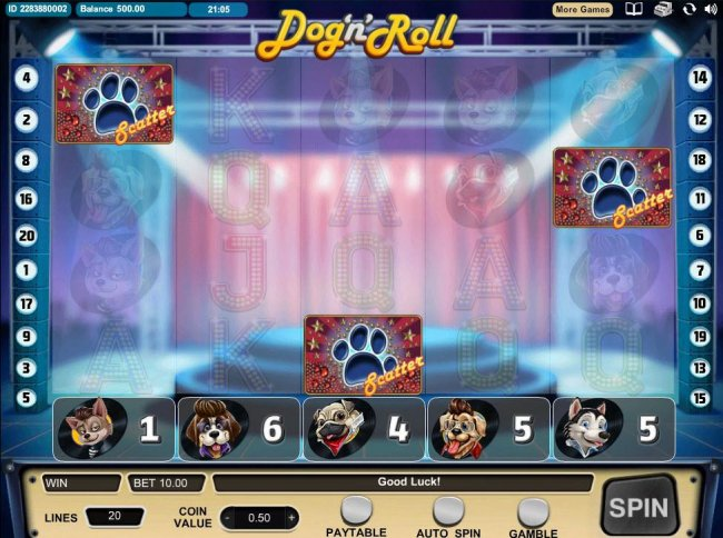Dog 'n' Roll screenshot