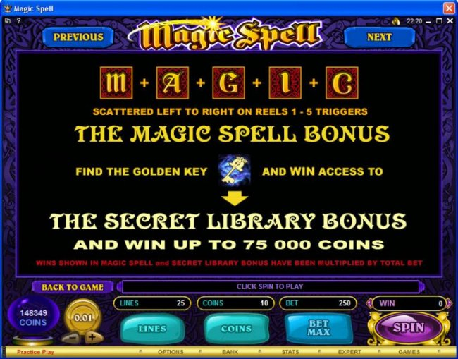 Magic Spell by Free Slots 247
