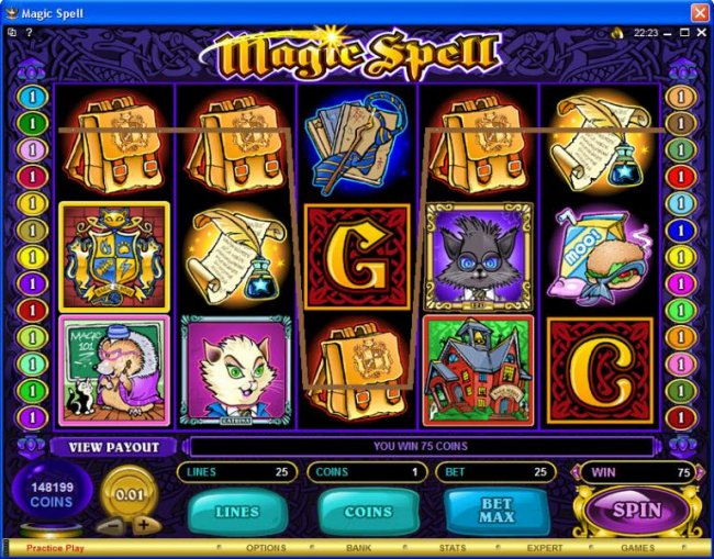 Free Slots 247 image of Magic Spell