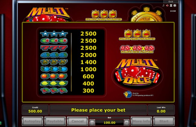 Free Slots 247 image of Multi Dice