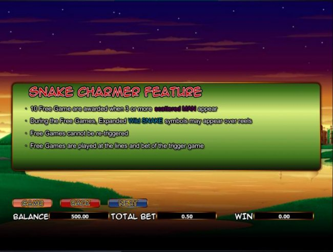 Free Slots 247 - snake game feature rules