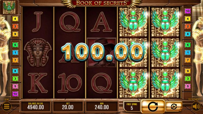 Free Slots 247 image of Book of Secrets