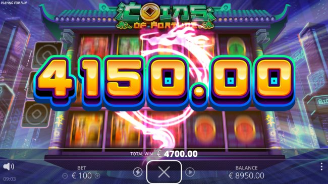 Multiple winning paylines triggers a big win by Free Slots 247