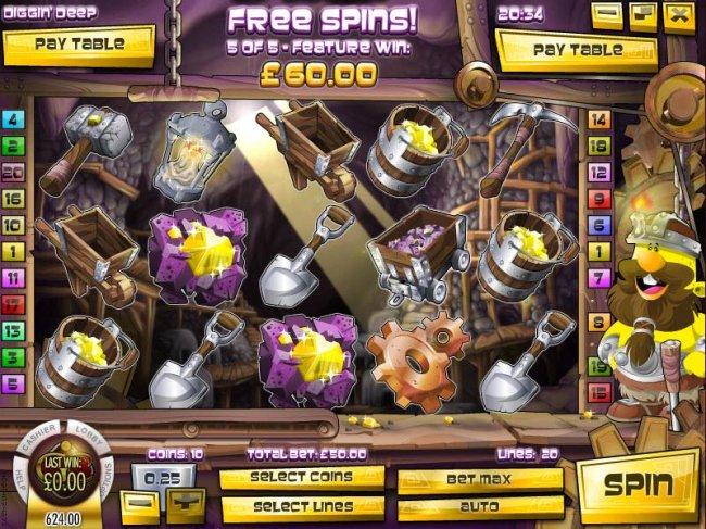 Diggin' Deep by Free Slots 247