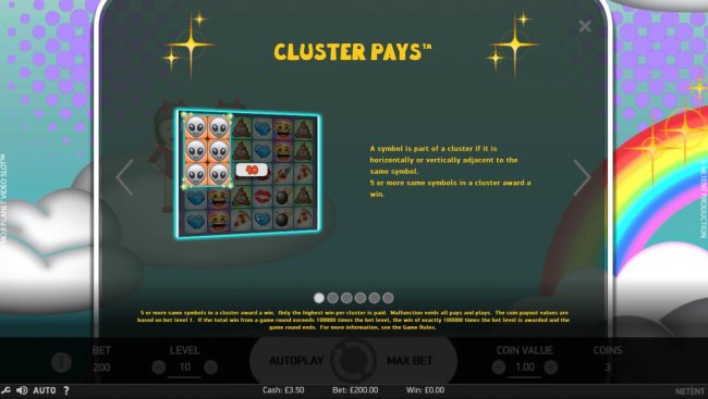Cluster Pays Rules by Free Slots 247