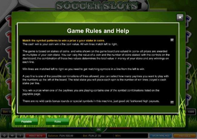Free Slots 247 image of Soccer Slots