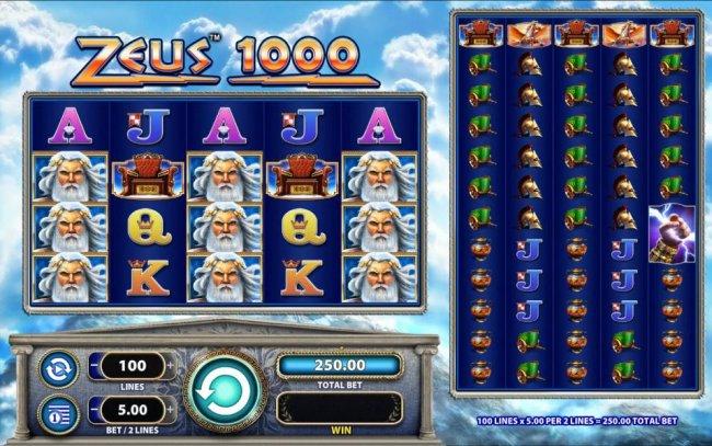 Free Slots 247 image of Zeus 1000