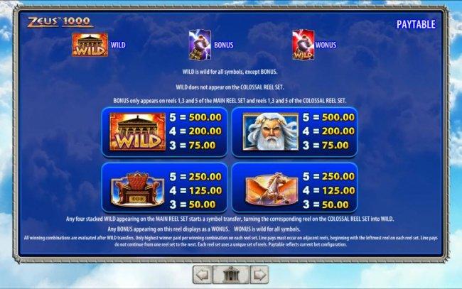 Zeus 1000 by Free Slots 247