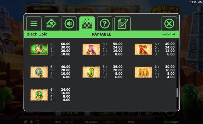 Free Slots 247 image of Black Gold Megaways