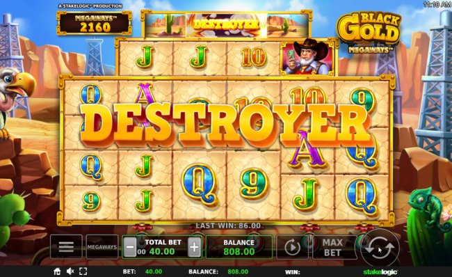 Free Slots 247 - Destroyer feature triggered
