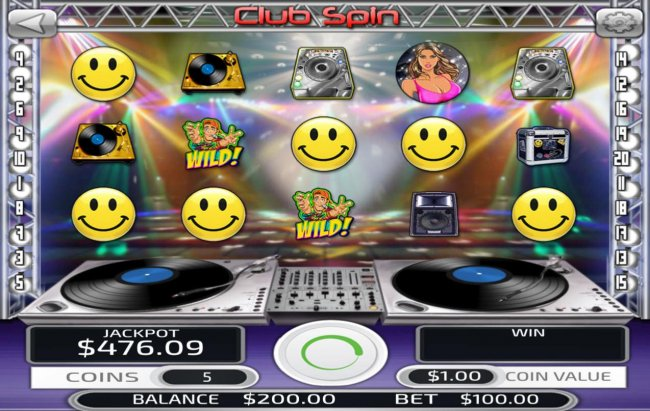 Images of Club Spin