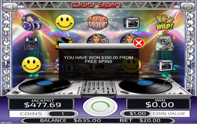 Free Slots 247 image of Club Spin