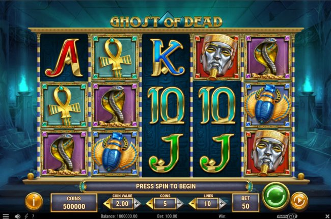 Ghost of Dead by Free Slots 247