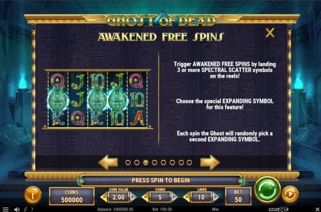 Free Slots 247 - Awakened Free Spins
