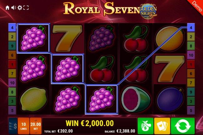 Royal Seven Golden Nights Bonus screenshot