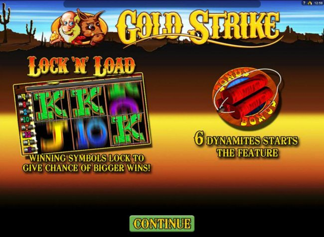 Gold Strike screenshot