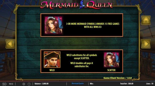 Mermaids Queen by Free Slots 247