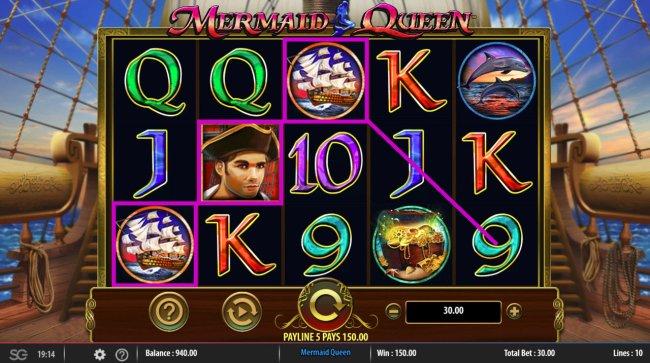 Free Slots 247 image of Mermaids Queen
