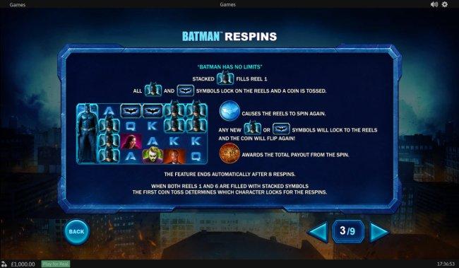 Batman Respins - Free Slots 247