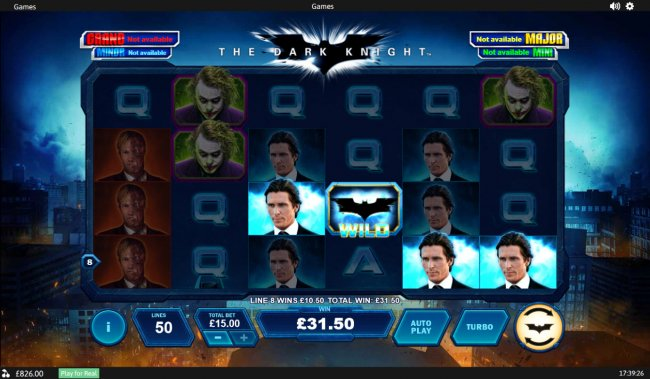 The Dark Knight by Free Slots 247