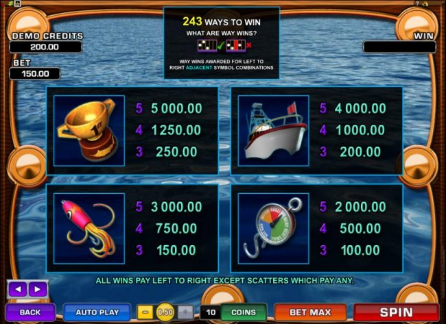Wild Catch by Free Slots 247