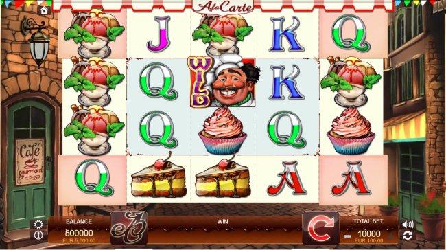 A La Carte screenshot