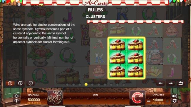 Free Slots 247 image of A La Carte