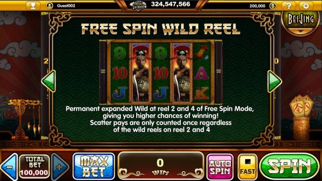 Free Spin Wild Reel - Free Slots 247