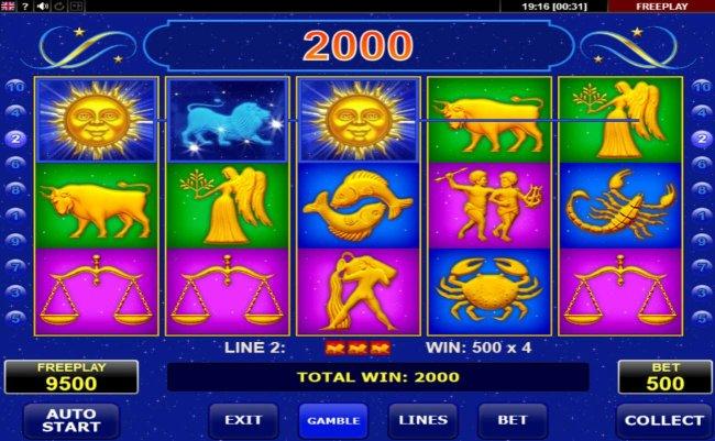 Free Slots 247 image of Lucky Zodiac