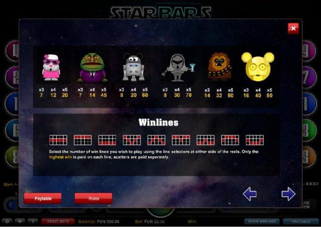 Starbars by Free Slots 247
