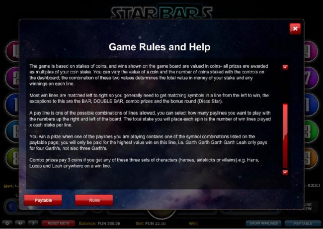 Free Slots 247 - Game Rules and Help - Part 2