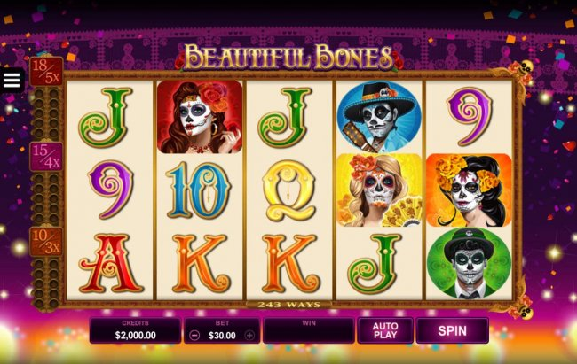 Free Slots 247 image of Beautiful Bones