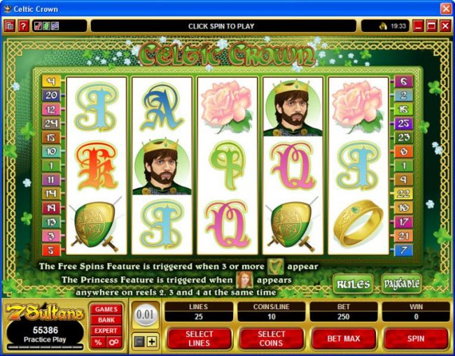 Free Slots 247 image of Celtic Crown