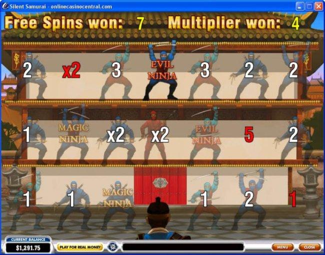 Silent Samurai by Free Slots 247