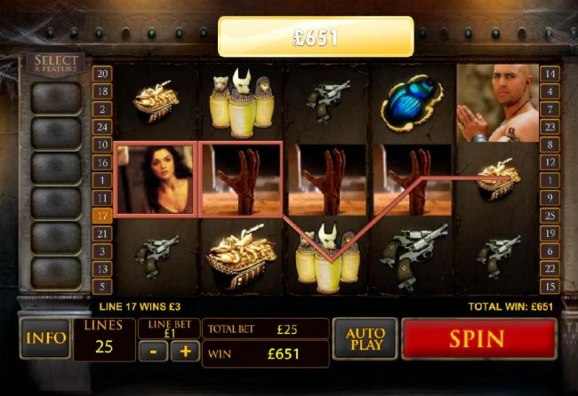 Free Slots 247 image of The Mummy