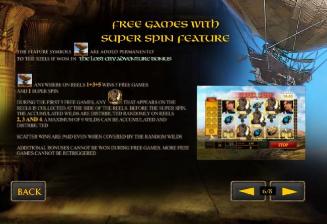 free games with super spin feature by Free Slots 247