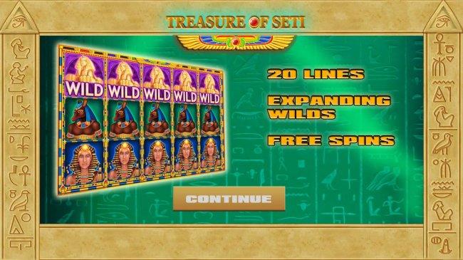 Images of Treasure of Seti