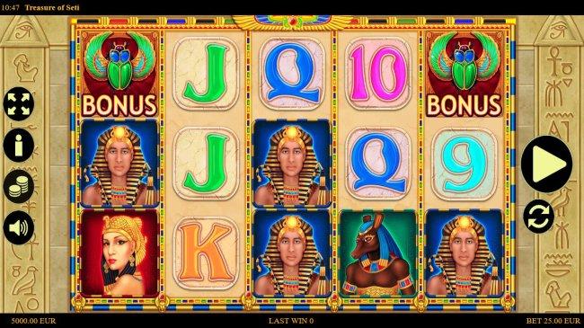 Free Slots 247 image of Treasure of Seti