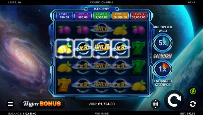 Free Slots 247 image of Cosmic Charms