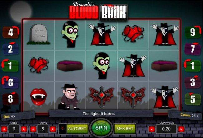 Dracula's Blood Bank by Free Slots 247