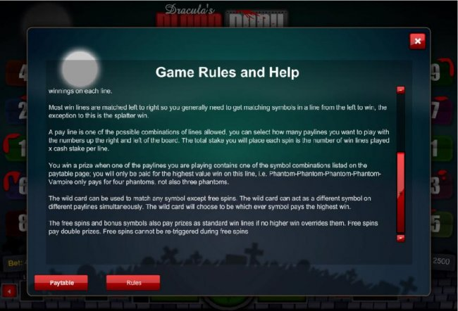 Game Rules and Help - Part 2 by Free Slots 247