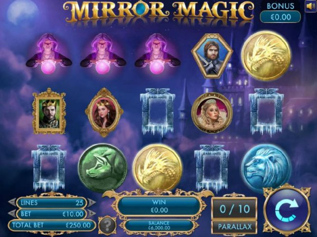 Three scatter symbols triggers the free spins feature. - Free Slots 247