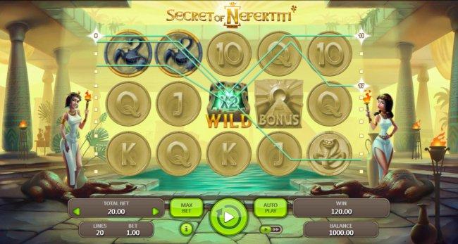 Secret of Nefertiti screenshot