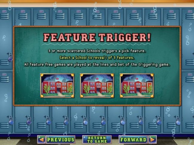 Feature Trigger rules - Free Slots 247