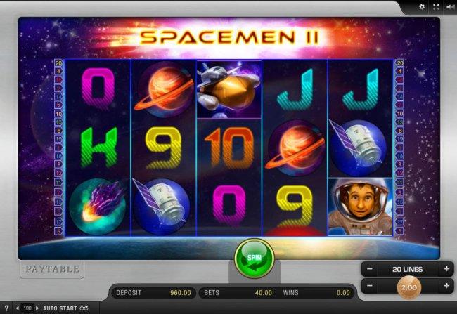 Space-Men II by Free Slots 247