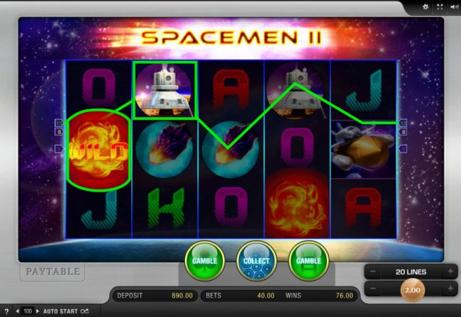 Free Slots 247 image of Space-Men II