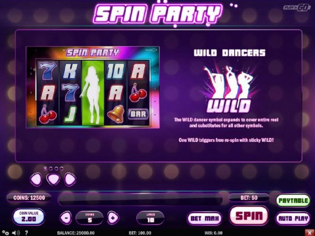 Images of Spin Party