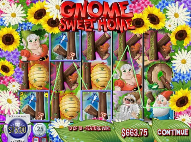 Gnome Sweet Home by Free Slots 247