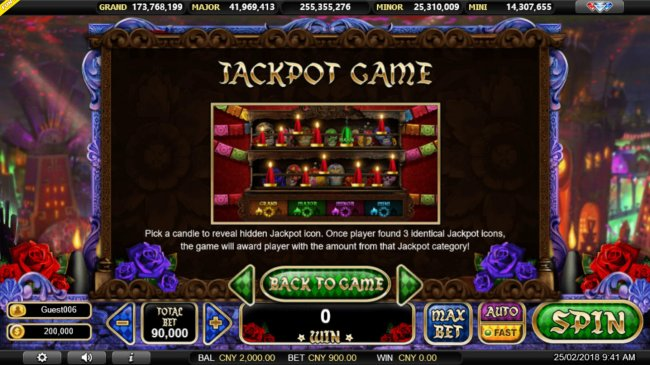 Jackpot Game Rules by Free Slots 247