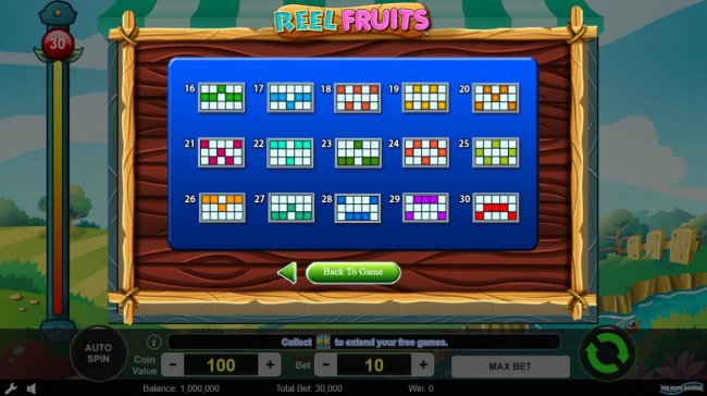 Reel Fruits screenshot